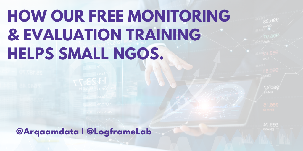 How Our Free Monitoring and Evaluation Training Helps Small NGOs